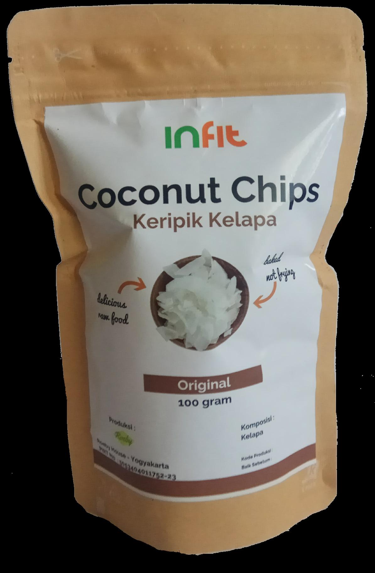 Infit Coconut Chips 70 gr